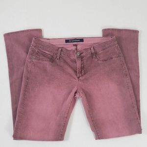 Driftwood Cranberry Washed Jean's size 29